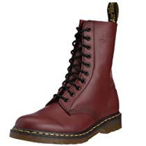Hot Sale Dr. Martens 1490 Boot,Cherry Red Smooth,8 UK/M 9- W 10 M US