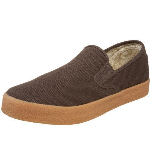 Draven Shoes  Men's Garth Slip-On,Chocolate,4 M