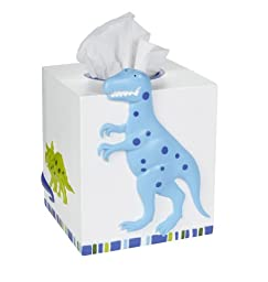 Kassatex Dino Park Tissue Holder-Multicolor