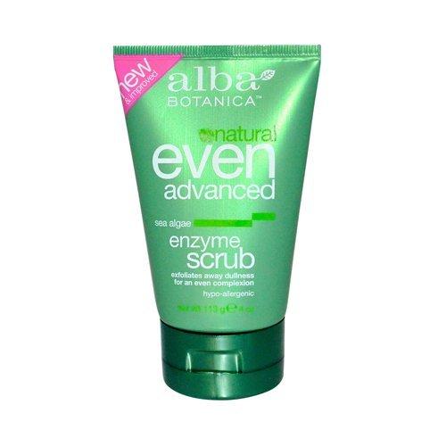 Alba Botanica Sea Enzyme Facial Scrub 4 Oz