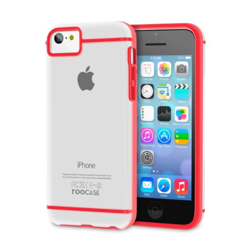 roocase-slim-fit-case-for-apple-iphone-5c-red-frost