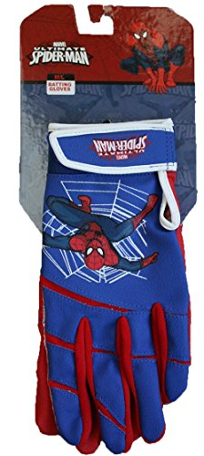 Easton Ultimate Spider-Man Youth Baseball Batting Gloves - size M/L