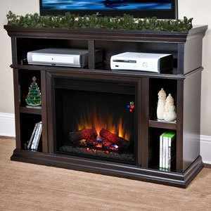 ChimneyFree Cambridge Electric Fireplace Media Center in Espresso - 23MM6171-E451 photo B00GHNO4BK.jpg