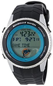 NFL Mens NFL-SW-MIA Schedule Series Miami Dolphins Watch by Game Time