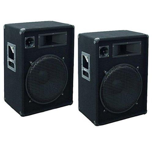 1600-Watt-PAAR-3-Wege-PA-Lautsprecher-Boxen-15-Bass-35cm-OMNITRONIC-DX-1522