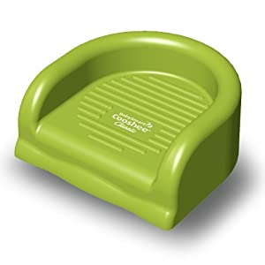 BabySmart Cooshee Booster Seat Classic,with Travel Bag, Lime