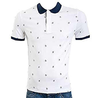 Original Penguin Briod Polo White White XLarge