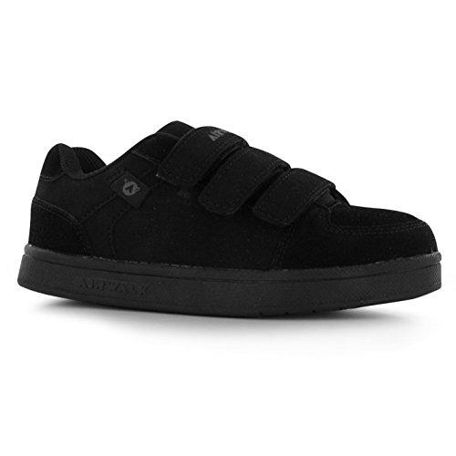 airwalk-brock-kinder-jungen-skate-schuhe-turnschuhe-sport-klett-sneaker-schwarz-2-34