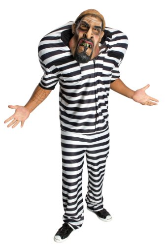 Big Bruizer Jail Bird Adult Costume