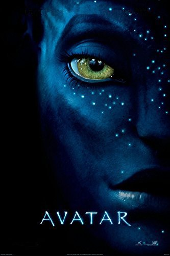 Avatar One Sheet Epic Sci Fi Adventure Action Movie Film Poster Print 24x36