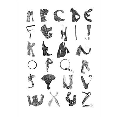 Alphabet by Stuart Whitton (Limited Edition Print)||EVAEX