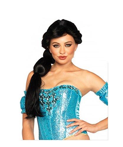 [LA2675/120 Jasmine Wig New] (Black Jasmine Wig)