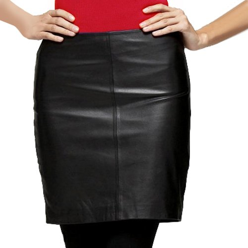 bgsd s lambskin leather pencil skirt pencil dress