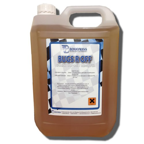 Bugs R Off - Bug, Insect & Tar Remover - 5 Litres