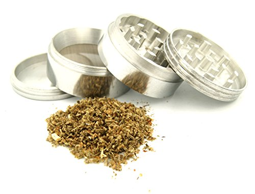 Psychedelic-Weed-Design-42-mm-Tobacco-And-Herb-Grinder-4-Parts-That-Has-Fashion-Design-On-And-Covered-With-Crystal-Clear-Doming-Item-G42-5715-273