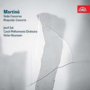 Martinu : Concertos pour violon