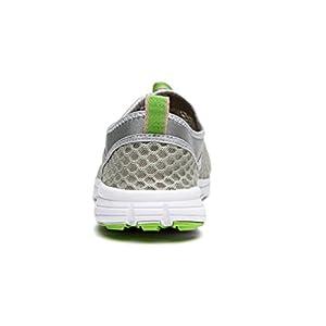 Men & Women Breathable Running Shoes,beach Aqua,outdoor,water,rainy,exercise,climbing,dancing,drive (40 EU (9 M US Women), grey-green)