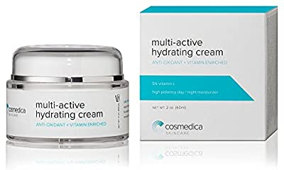 Cosmedica Skincare Multi-Active Hydrating Night Creme, 1.7 Ounce