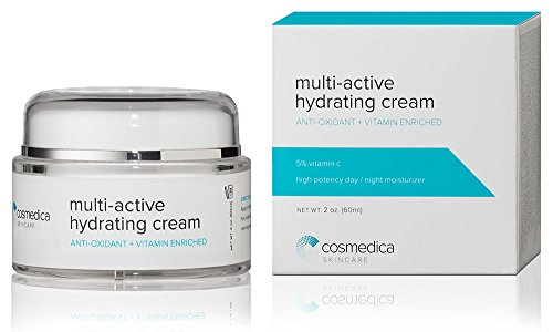 Multi-Active Hydrating Night Cream - Anti-Aging Facial Moisturizer Cream- Repair, Hydrate And Rejuvenate, Safe For All Skin Types - Aha, Hyaluronic Acid & Rosehip - The Best Facial Moisturizer For Sensitive Skin