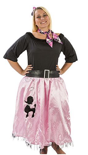 Adult Sock Hop Sweetie 50's Costume Plus Size