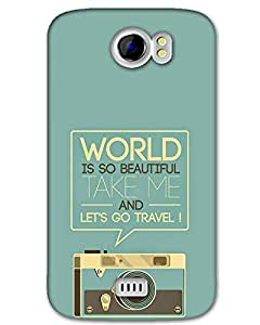 Micromax A110 Back Cover Designer Hard Case Printed Cover
