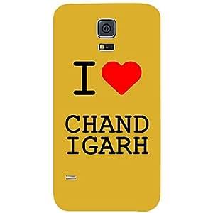 Skin4gadgets I love Chandigarh Colour - White Phone Skin for SAMSUNG GALAXY S5