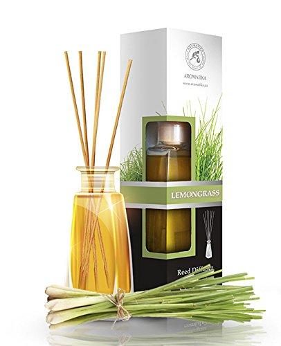 raumduft-diffuser-lemongrass-zitronengras-100ml-mit-duftstabchen-stabchen-mit-naturreines-atherische