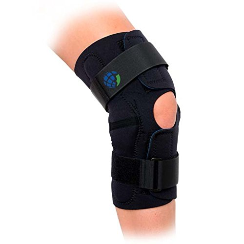 United Surgical Wrap Around Hinged Knee Brace, X-Large (United Surgical compare prices)