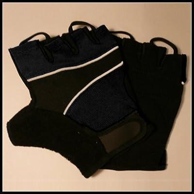 Black Amara Gym / Cycling / Weight Lifting Training Gloves by SF