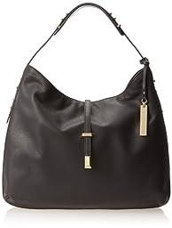 Vince Camuto Molly Hobo Shoulder Bag,Black,One Size