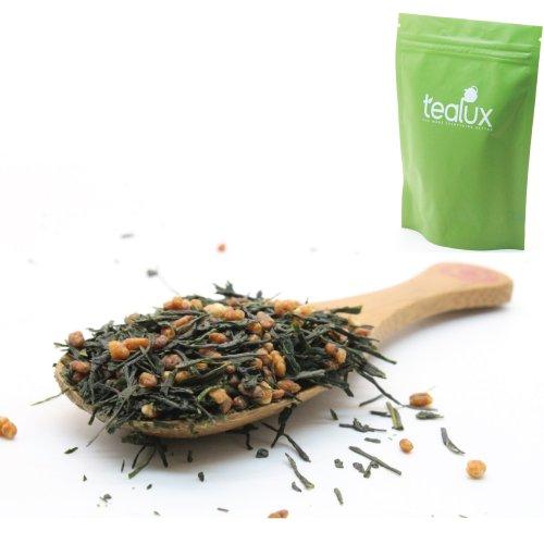 Premium Genmaicha Japanese Loose Leaf Green Tea, Organic - 7Oz / 200G