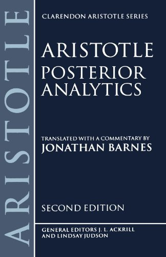 Posterior Analytics (Clarendon Aristotle)