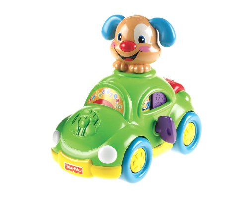 Fisher-Price Laugh & Learn Puppy's Learning Car - 1
