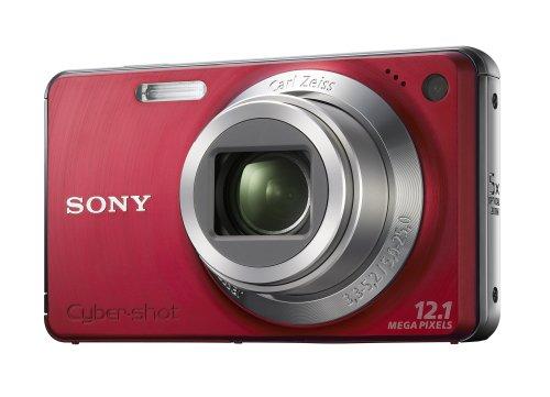 Sony Cyber-shot DSCW270R Digital Camera - Red (12.1 MP, 5x Optical Zoom) 2.7 inch LCD