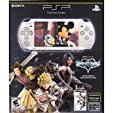 PSP 3000 Limited Edition Kingdom Hearts Birth by Sleep Entertainment Pack - Mystic Silver