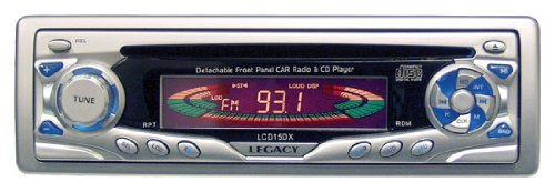 Legacy Lcd15Dx Am/Fmmpx Cd Player With Detachable Face