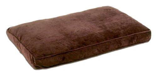 Pet Dreams Plush Ortho-Bliss 100-Percent Memory Foam Dog Bed, Coco Brown, Xx-Large, 48 By 36-Inch