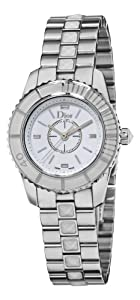 Christian Dior Women's CD112112M001 Christal White Sapphire Watch from Christian Dior