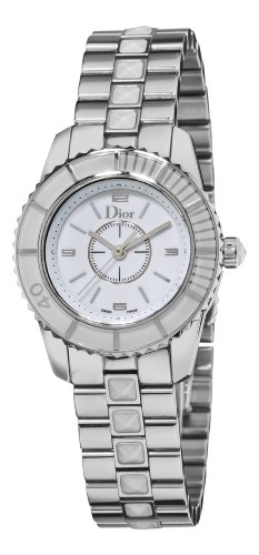 Christian Dior Women's CD112112M001 Christal White Sapphire Watch