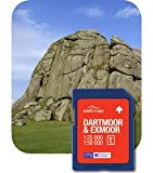Satmap National Park 1:25000/1:50000 Dartmoor & Exmoor