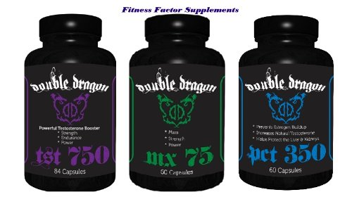 Double Dragon Labs Mx-75 + Tst-750 + Pct-350 Triple Pack