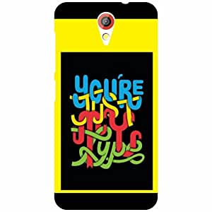 HTC Desire 620G Back Cover - You Are The Best Designer Cases