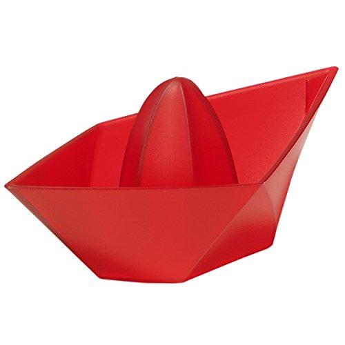 Koziol 3682536 Ahoi Presse-Citron Plastique Rouge/Transparent 8 x 18 x 6,3 cm