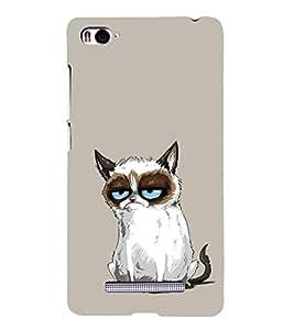 Grumpy Cat 3D Hard Polycarbonate Designer Back Case Cover for Xiaomi Mi 4i :: Xiaomi Redmi Mi 4i
