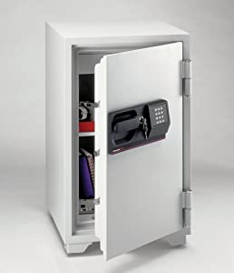 Sentry S6770 3-Cubic Feet Commercial Electronic Tubular Key Fire Safe, 342-Pound,... by Sentry Industries Inc.