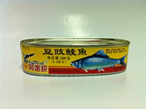 Canned Dace Fish with Salted Black Beans 6.5z
