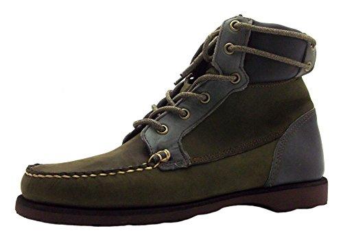 Sebago Scout Boot, Stivali uomo verde Green, verde (Green), 44
