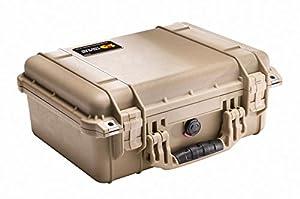 Pelican 1450 Case with Foam for Camera (Desert Tan)