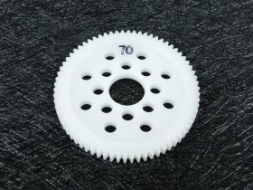 3Racing #3R/3Rac-Sg4870 48 Pitch Spur Gear 70T For Most Rc Cars