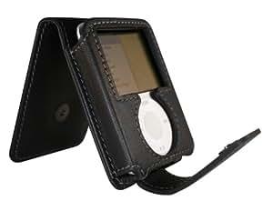 Exspect EX484 iPod Nano 3G Black leather case